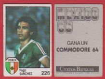 Mexico Hugo Sanchez Real Madrid